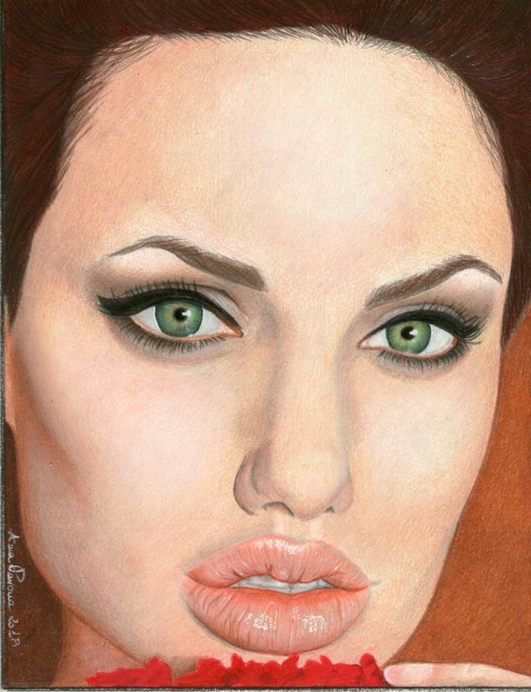 Angelina Jolie by AnnaPavone